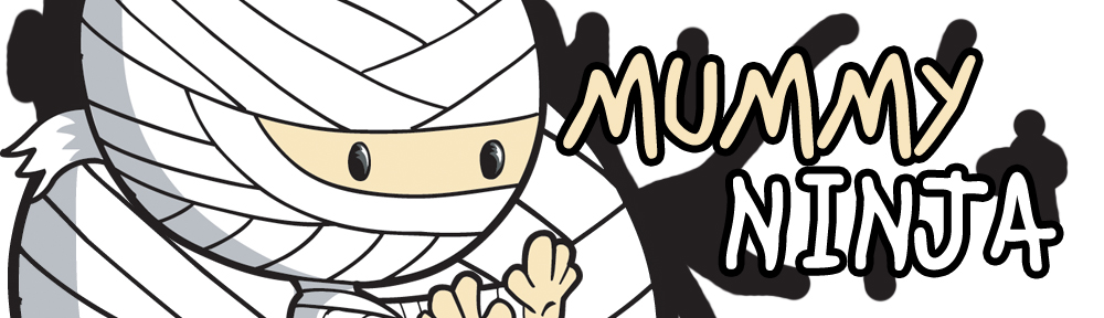 The Mummy who looks like a Ninja Theme